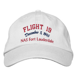 In Memory of Flight 19 Embroidered Cap