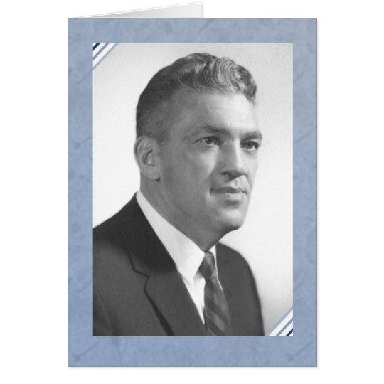 In Memory of Grampy Ed Card