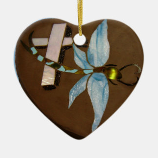 In Memory Of in Stained Glass Ceramic Ornament