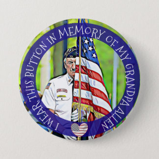 In Memory of Military Button