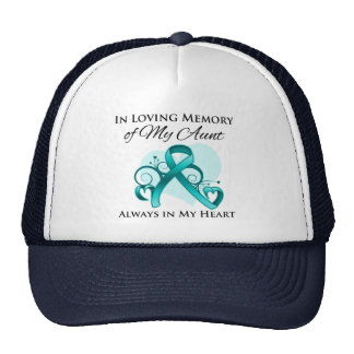 In Memory of My Aunt - Ovarian Cancer Cap