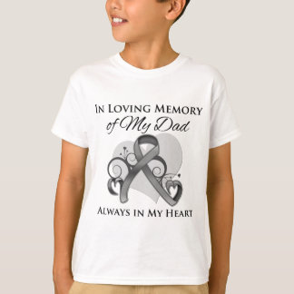 In Memory of My Dad - Brain Cancer Tee Shirt
