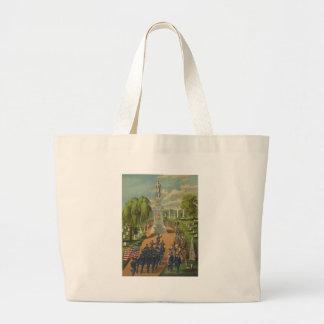 In Memory of Our Fallen Heroes American Civil War Canvas Bags