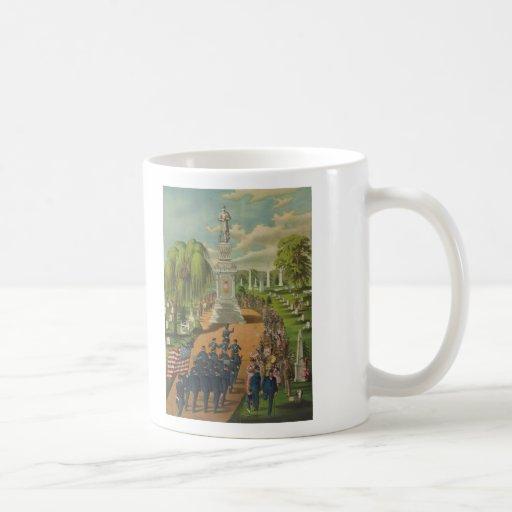 In Memory of Our Fallen Heroes American Civil War Coffee Mugs
