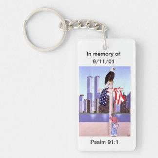In Memory of September 11th, 2001 Key Ring