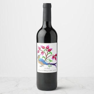 In Memory Wine Label