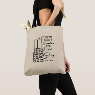 In My Dream World Tote Bag