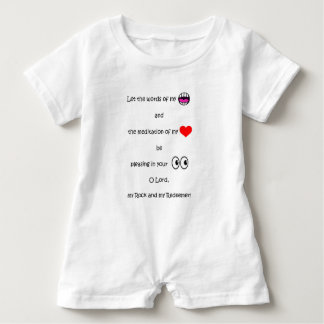 In My Heart Series Baby Romper Baby Bodysuit