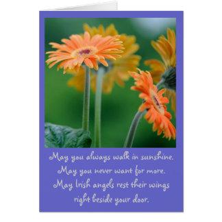 In my prayers card