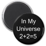 In My Universe 2+2=5