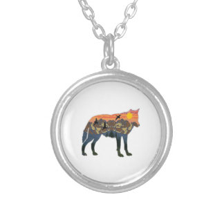 IN NEW WORLDS SILVER PLATED NECKLACE