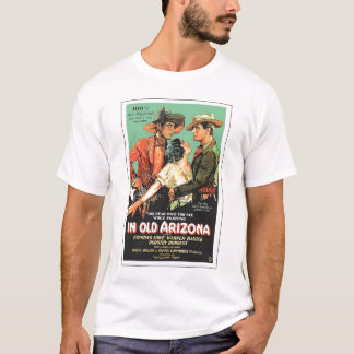 """In Old Arizona"" 1928 vintage movie poster T-shirt"