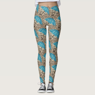 """In Omnia Paratus """"Ready for Anything"""" Leggings"""