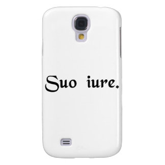 In one's own right. galaxy s4 cases