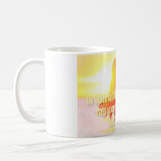 In order to love, you must first love yourself. coffee mug