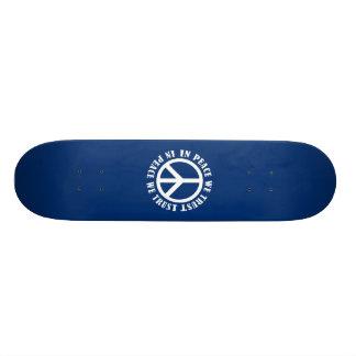 In Peace We Trust Custom Skateboard