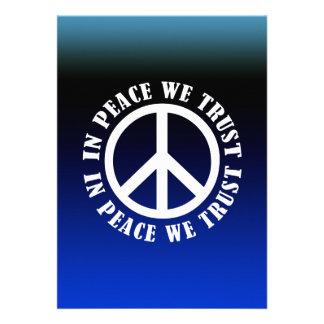 In Peace We Trust Custom Invite