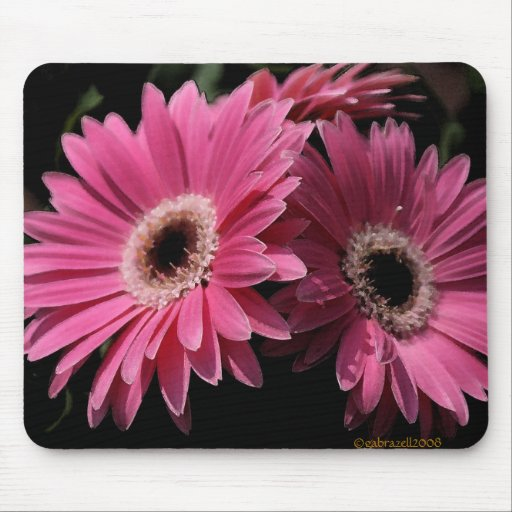 In Pink G_4 Mousepad