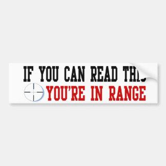 In Range Sticker