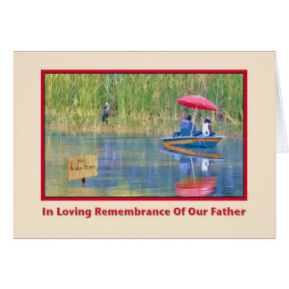 In Remembrance Father's Day Card