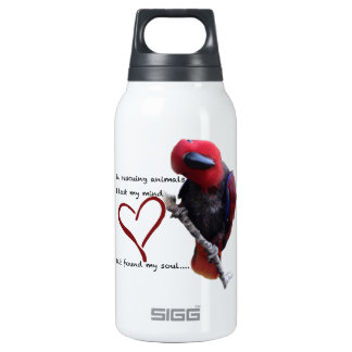 In rescue, I lost my mind, but found my soul. Insulated Water Bottle