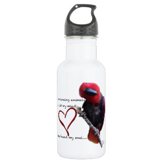 In rescue, I lost my mind, but found my soul. 532 Ml Water Bottle