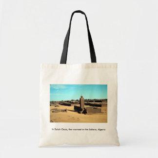 In Salah Oasis, the warmest in the Sahara, Algeria Bags