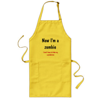 (in)sanity - now I'm a zombie Long Apron