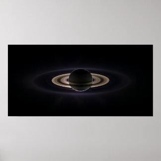 In Saturn s Shadow Print