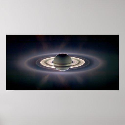 In Saturn's Shadow Enhanced Print
