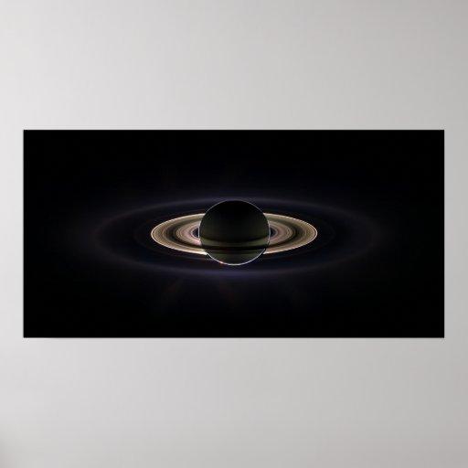 In Saturn's Shadow Print