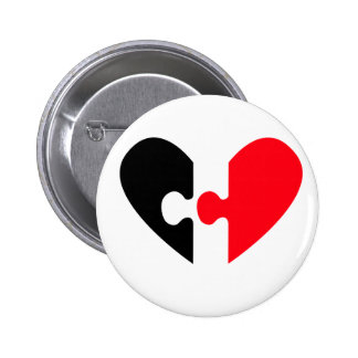 In Search For Love Pinback Button