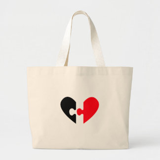 In Search For Love Canvas Bag