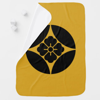 In Shippo flower angle Baby Blanket