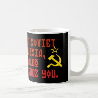 In Soviet Russia Waldo Finds You Mug