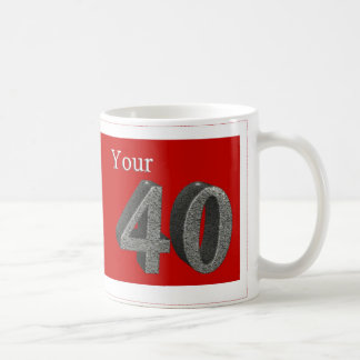In stone 40 coffee mug