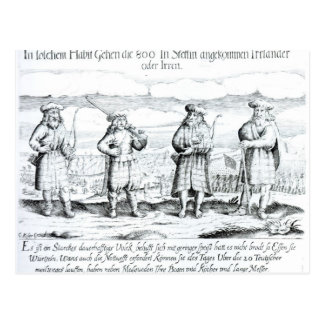 In Such Attire did Irishmen Postcard