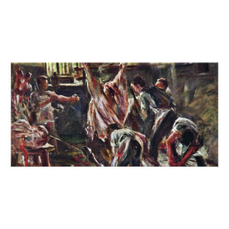 In The Abattoir By Corinth Lovis (Best Quality) Photo Cards