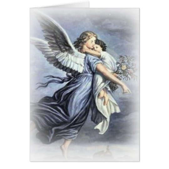 In the arms of an Angel Card