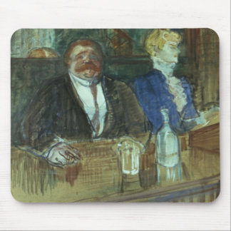 In the Bar: The Fat Proprietor Mousepads