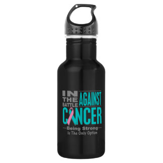 In the Battle Against Hereditary Breast Cancer 532 Ml Water Bottle