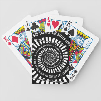 In The Beginning Bicycle Playing Cards