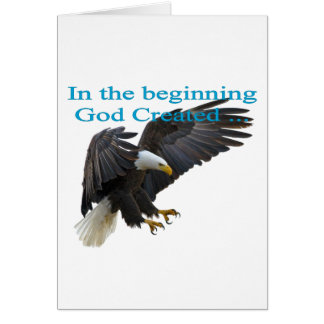 In the Beginning Card