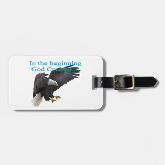 In the Beginning Luggage Tag