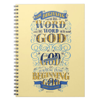 In the Beginning Was the Word Notebook