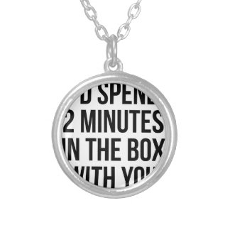 In the Box Silver Plated Necklace