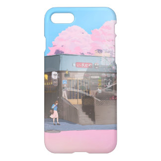 In the bus phone case