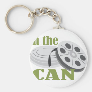 In the Can Basic Round Button Key Ring