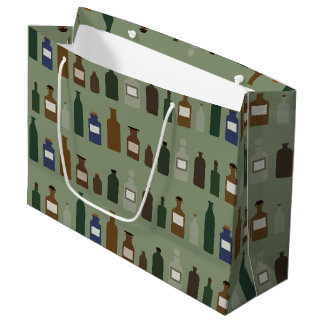 In The Care Of An Apothecary Large Gift Bag