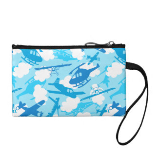 In the clouds coin purse